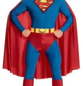 Rubies - Disfraz de Superman para hombre, talla XL (I-888001XL)