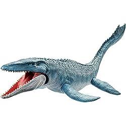 Jurassic World- Mosaurus Dinosaurio de Juguete, (Mattel FNG24)