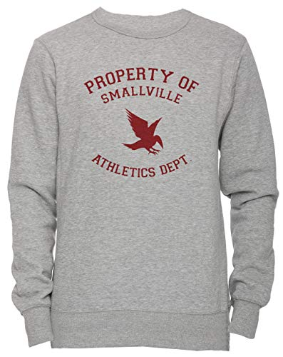 Erido Smallville Athletics Hombre Camiseta Cuello Redondo Gris Manga Corta Tamaño M Men's Women's Jumper Grey Medium Size M