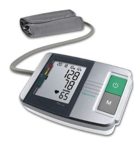 Medisana 51152 Misura pressione da Braccio, Indicatore aritmie, Display di facile lettura, 60 spazi...