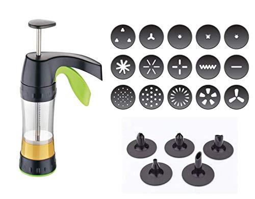P V SALES Magic Press Sev Sancha Multi Purpose Cookies Maker Indian Snack Maker Machine(Multi-Color)