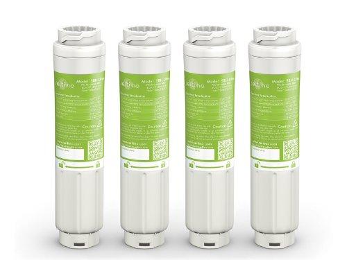 Seltino 4filtri dell'acqua SBH ultra serviceper frigoriferi UltraClarity Bosch, Siemens, Neff,...