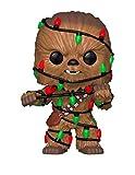 Funko- Star Wars: Holiday Chewbacca con Light Pop, Multicolore, Standard, 33886