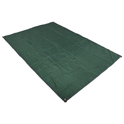 Anyoo Ultralight Wasserdichte Bodenplane Mat Zelt Tarp Footprint Boden und Sonnenschirm Outdoor Pocket Blanket mit Kordelzug Carry Pouch für Camping Wandern Picknick Strand