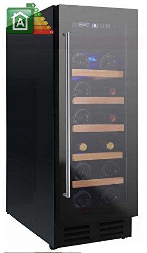 Nevada Cantina vino NW20S-FG con porta full glass da 29,5cm
