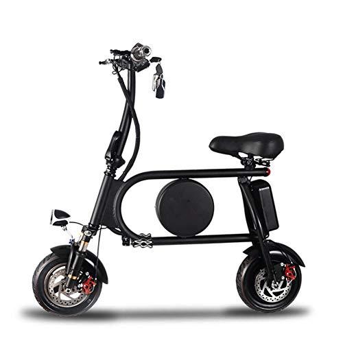 Thole Monopattino Elettrico 12 Bici Elettriche Pollici Lega di Alluminio Pieghevole Freestyle Adulti...