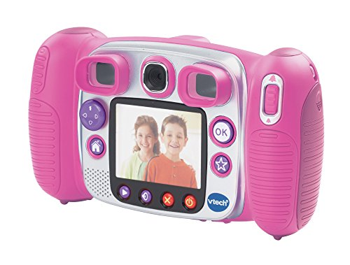vtech kidizoom duo appareil photo num rique rose jeux. Black Bedroom Furniture Sets. Home Design Ideas