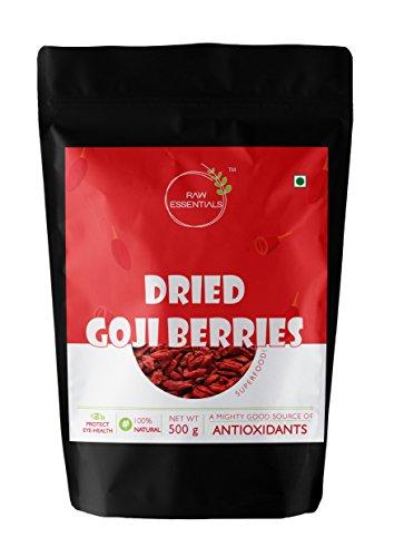 Raw Essentials Premium Dried Goji Berries, 500g