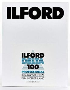 Ilford Delta 100, placas de película tamaño 9x12cm