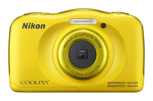 Nikon Coolpix W100 Kamera gelb