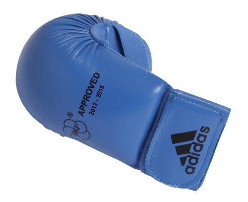 Adidas - Guanti Da Karate-Kumite/Fit-Boxe Blu Omologati Wkf (Xl)