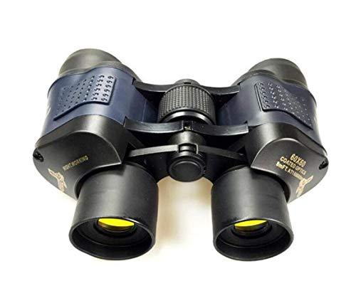 Zhengtuu Binoculares HD Concierto de visión Nocturna de Alta definición for Adultos BKA4 Negro Fácil de Llevar, Caza y Pesca Camping/Senderismo/Espeleología Simple practico (Color : Black)
