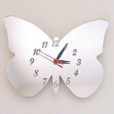 Super Cool Creations Espejo con diseño de Mariposa y alas Grandes, 25 cm x 20 cm