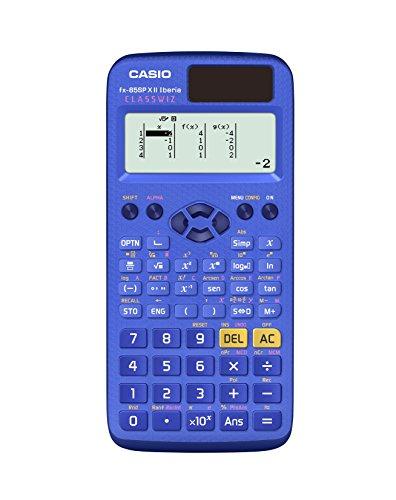 Casio FX-85SPXII-BU-S-EH - Calculadora científica, 13.8 x 77 x 165.5 mm, color azul