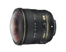 Nikon JAA831DAF - Objetivo para cámara réflex Fisheye AF-S 8-15MM E ED SD2, color negro