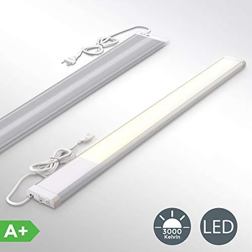 Lampada sottopensile cucina LED, luce calda 3000K, LED integrati da 10W, lunghezza 57.5cm, 1.110 Lm,...