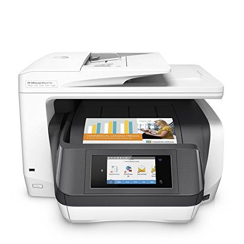 HP OfficeJet Pro 8730 Stampante multifunzione (A4, Stampante, Scanner, Copiatrice, Fax, PCL 6,...