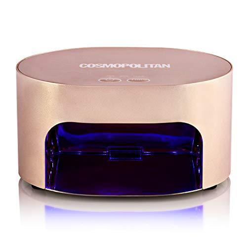 Cosmopolitan Fornetto Unghie con Lampada a LED 8W | Asciuga Smalto Gel, Timer da 30, 60 e 120...