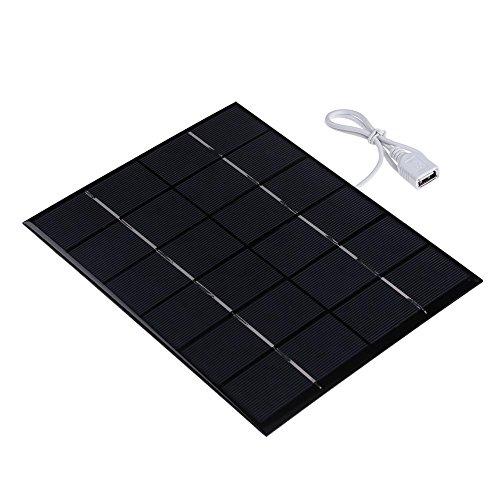 Everpert alimentazione 6V 5.2W pannello solare carica batterie epossidiche pannelli solari...