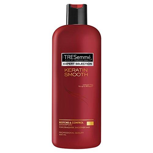 TRESemmé KERATIN SMOOTH SHAMPOO 500ml - macht das Haar glatt und herrlich überschaubar.
