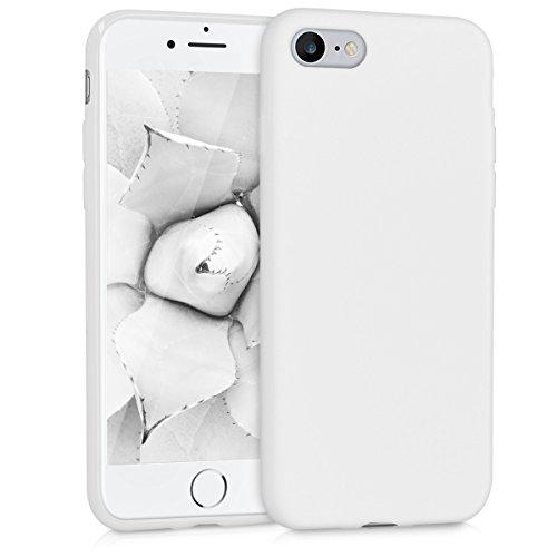 kwmobile Apple iPhone 7/8 Hülle - Handyhülle für Apple iPhone 7/8 - Handy Case in Weiß Matt