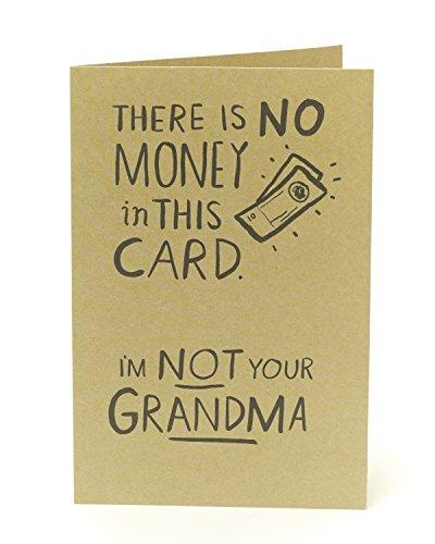 Lustige Geburtstagskarte Funny-kein Geld