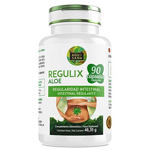 Detox 100% Naturale - Aloe Vera -Supplemento alimentare per combattere la stitichezza (90 Capsule)