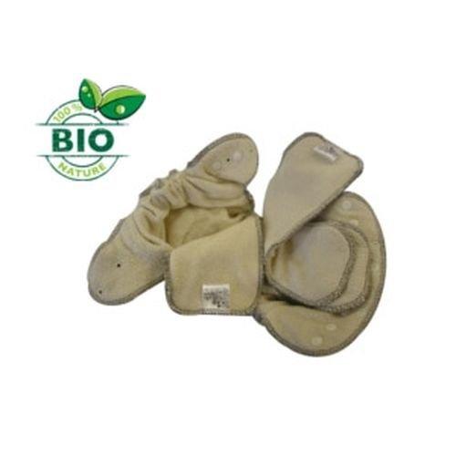Pannolino Lavabile Fitted Modulo Bio in cotone Bio - 2,8Kg - 15Kg