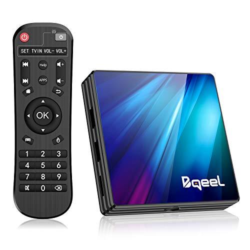 Bqeel Android 9.0 TV Box R1 PLUS, 4GB RAM+64GB ROM / CPU RK3318 Quad-Core 64bit /Dual WIFI 2.4/5G +...