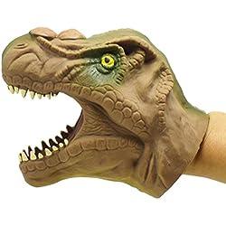 TOYMYTOY Juguete Marioneta de Dinasaurio de Goma (Tyrannosaurus rex