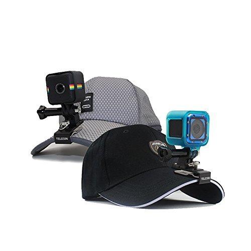 TELESIN Multi funzionale in lega di alluminio Cap clip Mount Zaino Clip per GoPro Hero2/3/3 +/4/5/6, Gopro Hero4 sessione, Xiaomi yi4 K