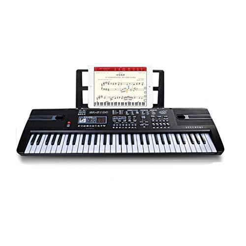 LINGLING-Tastiera Tastiera per Bambini Piano 61 Tasti Microfono Puzzle Educazione Musicale (Colore :...