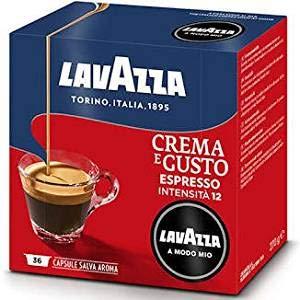 Lavazza 144 Capsule caffè Modo Mio Crema e Gusto