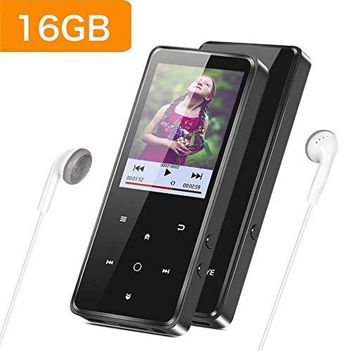 Supereye Lettore MP3 Bluetooth 16GB, Lossless Sound MP3 Lettore con 2.4' TFT Display a Colori,...