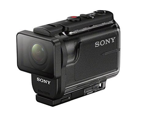 Sony HDRAS50B.CEN - Videocámara (Full HD 60p, sensor Exmor-R de 11,1Mp, Steadyshot, zoom de 3x, carcasa de 60 m) negro