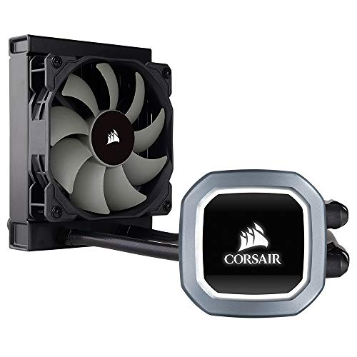 Corsair Hydro 100i RGB Platinum Radiatore da 240 mm, Ventola Doppia ML PRO da 120 mm RGB PWM,...