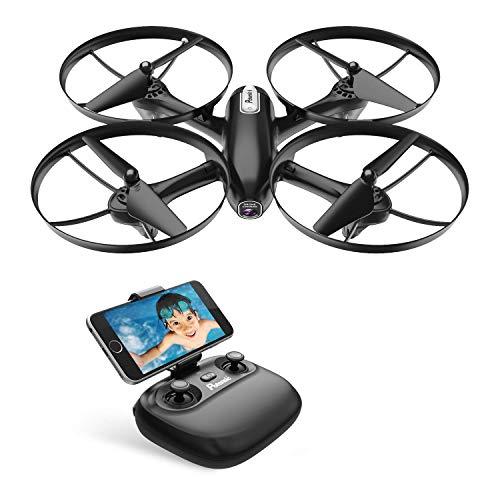 Potensic Drone con Telecamera HD FPV RC Quadricottero WiFi Professionale con Fotocamera modalità...