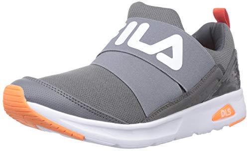 Fila Men's Pergo Dk Gry/Org Sneakers-8 UK (42 EU) (9 US) (11005656)