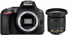 """'Nikon d5600Kit Incluye """"AF de p DX NIKKOR 10–20mm 1: 4.5–5.6G VR Negro"""