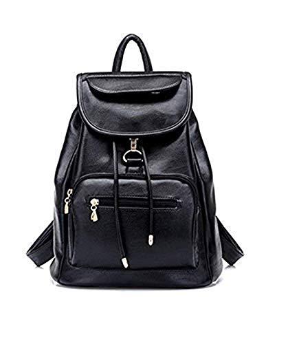 Ratfire Girl's Trendy, Stylish & Latest Design School, College, Casual Bag, Backpack (Black)