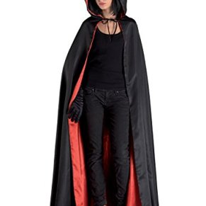 chiber Disfraces Disfraz Capa Domino Negro. Talla Única (M)