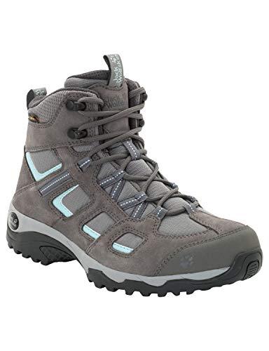 Jack Wolfskin Damen Vojo Hike 2 Texapore MID W Wasserdicht Trekking-& Wanderstiefel, Grau (Tarmac Grey 6011), 37.5 EU