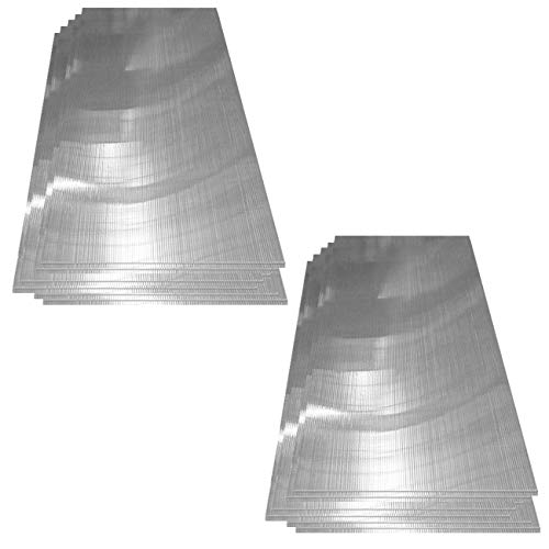 Deuba 14x Polycarbonat Hohlkammerstegplatten 4mm   10,25 m² Doppelstegplatte - 1210x605  ...