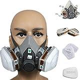 3M 3M-6200 Half Facepiece Reusable Respirator, Without Cartridges(Medium) 19