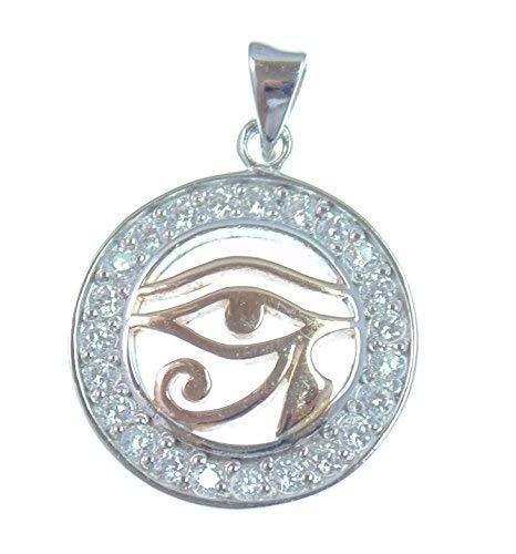 Colgante de plata, protección contra el mal de ojo