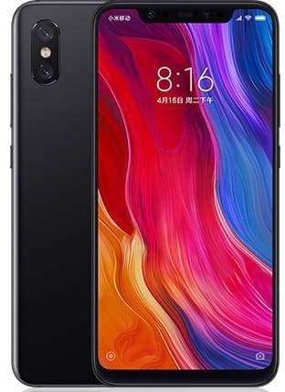 """Xiaomi Mi 8 - Smartphone Dual SIM de 6.21"""" (Octa-Core Kryo 2.8 GHz, RAM de 6 GB, Memoria de 64 GB, cámara de 20 MP, Android 8.0) Color Negro [Versión global]"""