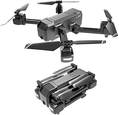 FEE-ZC Drone F607 Pieghevole con videocamera 4K per Adulti, WiFi FPV Live Video, modalità Senza...