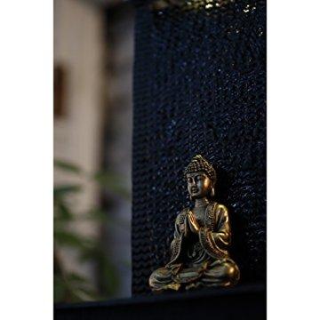 Zen'Light Zenitude Fuente de poliresina Negra 31x 31x 42cm 5