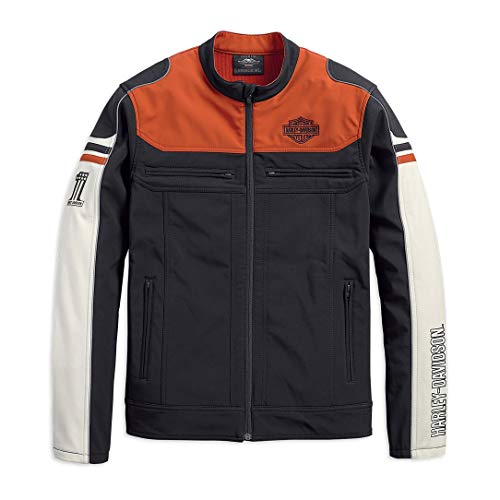 HARLEY-DAVIDSON Men's Colorblock Soft Shell Jacket - 98405-19VM