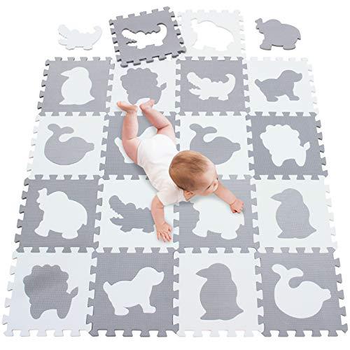 meiqicool - Tappetino da Gioco per Bambini Ginnastica Puzzle,Accessori per Puzzle,Tappetino da...